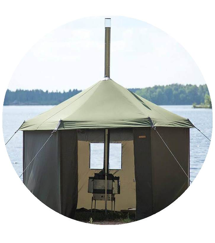 Mobile Tent Sauna
