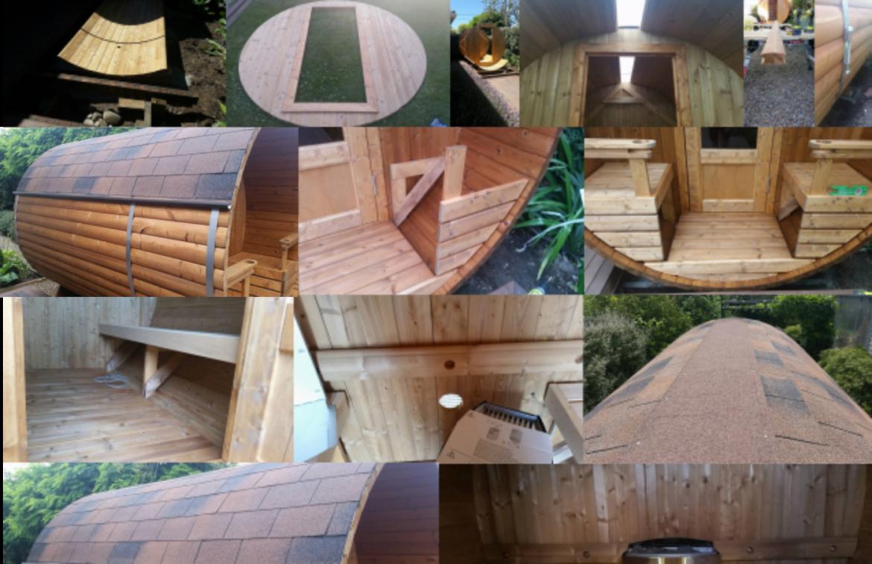Building Our Sauna
